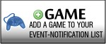 Add a Game to your personal Games (Notification via Mail on every new Event)